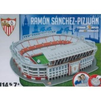 Puzzle 3D Estadio Ramón Sánchez Pizjuan