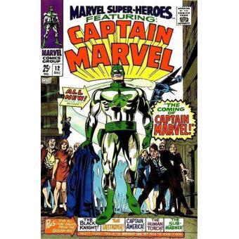 La llegada del Capitán Marvel