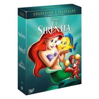 Pack Clásicos Disney - Trilogía La sirenita - DVD