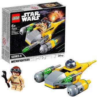 LEGO Star Wars 75223 Microfighter: Caza Estelar de Naboo