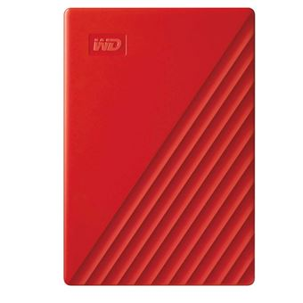 Disco duro portátil WD My Passport 2.5'' 2TB Rojo