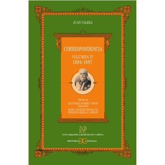 Correspondencia -  Volumen IV 1884-1887