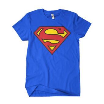 Camiseta DC Superman - Logo Azul Talla XL
