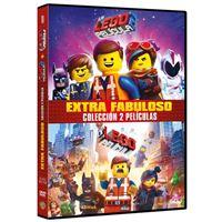 La LEGO Película 1-2 - DVD