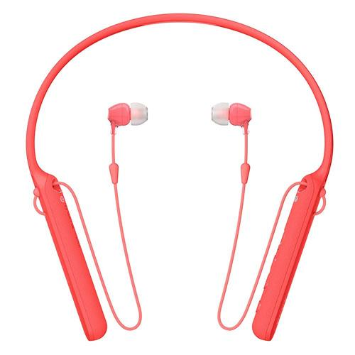 Auriculares Bluetooth Sony WI-C400 Rojo