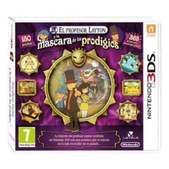 El Profesor Layton y la Máscara de los Prodigios Nintendo 3DS