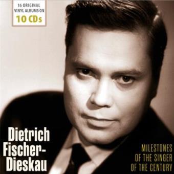 Dietrich Fischer. Dieskau Milestones of the Singer of the Century