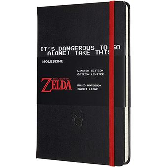 Cuaderno Moleskine The Legend of Zelda negro