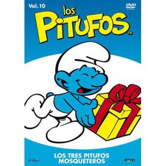 Los Pitufos: Los tres pitufos mosqueteros - DVD