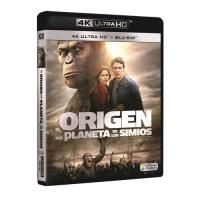 El origen del planeta de los simios - UHD + Blu-Ray