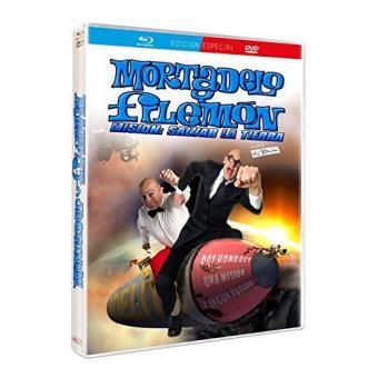 Mortadelo y Filemón: Misión salvar la tierra - Blu-Ray + DVD
