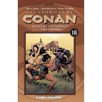 Las crónicas de Conan 18. La isla de los muertos