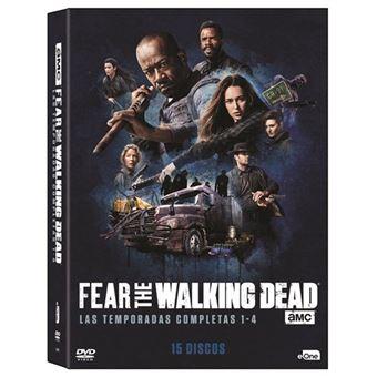 Fear The Walking Dead - Temporada 1 - 4 - DVD