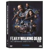 Fear The Walking Dead  Temporada 1 - 4 - DVD