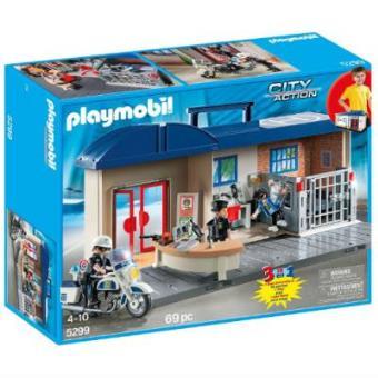 Playmobil City Action Maletín Estación de policia