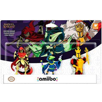Pack 3 figura Amiibo Shovel Knight