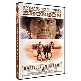 Pack Charles Bronson - 6 grandes westerns - DVD