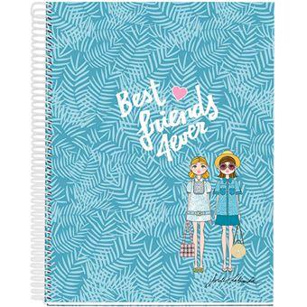 Cuaderno A4 Miquelrius Jordi Labanda Best Friends 5 mm 120 h