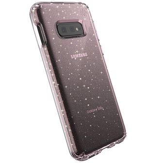 Funda Speck Presidio Clear Glitter para Samsung Galaxy S10e