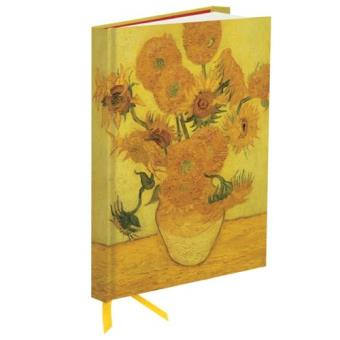 Flame Tree libreta Van Gogh Sunflowers girasoles