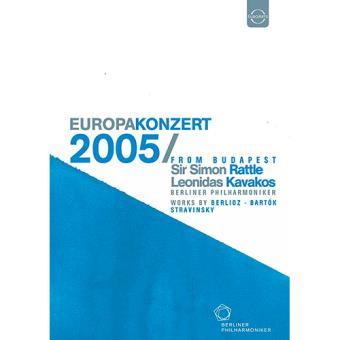 Europakonzert 2005 aus Budapest (DVD)