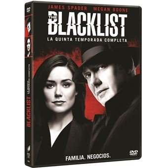 The Blacklist - Temporada 5 - DVD