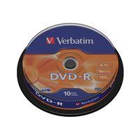 Verbatim Spindle 10 DVD-R 16X