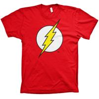 Camiseta DC Flash - Logo Rojo Talla M