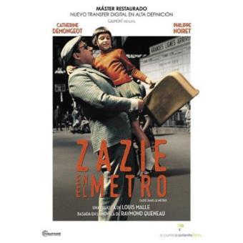 Zazie en el Metro - DVD