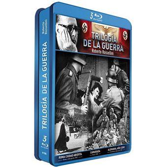 Rosellini: Trilogía de la Guerra - Steelbook Blu-Ray