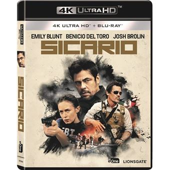 Sicario - UHD + Blu-Ray