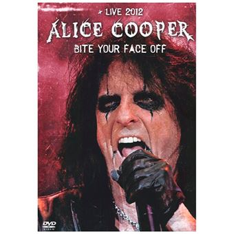 Live 2012 - Bite your face off - DVD