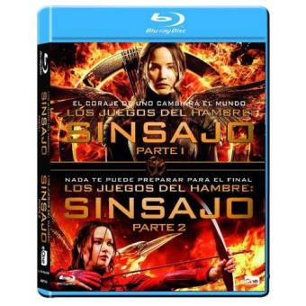 Los Juegos del Hambre: Sinsajo - Parte 1 y 2 - Blu-Ray