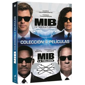 Pack Men in Black 1-4 - DVD