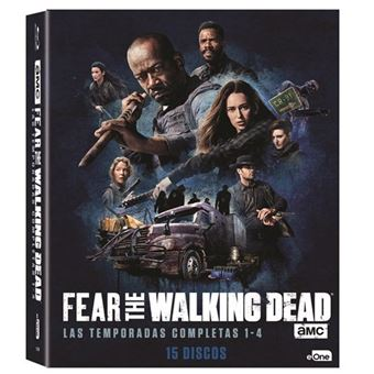Fear The Walking Dead -  Temporada 1 - 4 - Blu-Ray