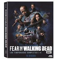 Fear The Walking Dead -  Temporada 1 - 4 - Blu-Ray