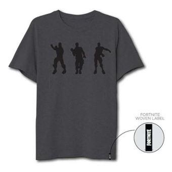 Camiseta Fortnite Floss Dance Gris oscuro - Talla M