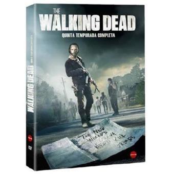 The Walking DeadThe Walking Dead - Temporada 5 - DVD