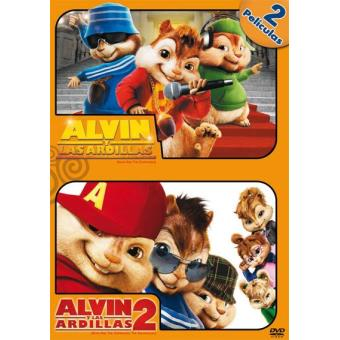 Pack Alvin y las ardillas + Alvin y las ardillas 2 - DVD