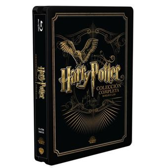 Pack Saga Harry Potter - Steelbook Blu-Ray