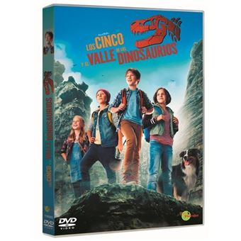 Los cinco y el valle de los dinosaurios - DVD