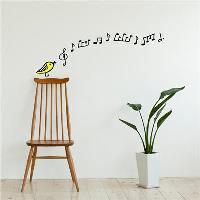 Chispum vinilo decorativo Pájaro cantarín