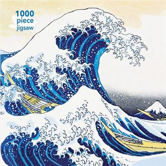 Puzzle Hokusai: The Great Wave: 1000 piezas
