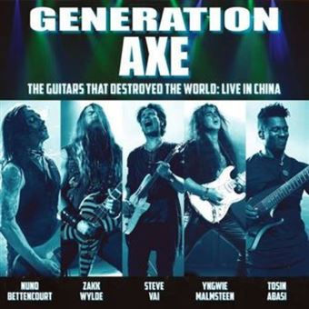 Generation Axe:Guitars - The guitars that destroyed the world: Live in China - 2 Vinilos