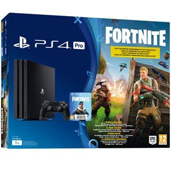 Consola Ps4 Pro 1tb Fortnite Voucher Consola Los Mejores