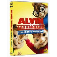 Pack Alvin y las Ardillas (Peliculas 1- 4) - DVD