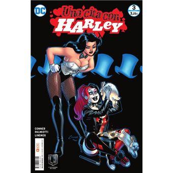 Una cita con Harley núm. 03 (de 6): Zatanna Grapa