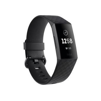 Smartband Fitbit Charge 3 Negro Grafito