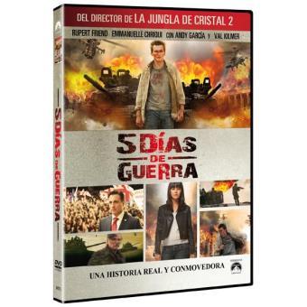 5 días de guerra - DVD
