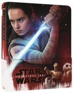 Star Wars Episodio VIII Los últimos Jedi - Steelbook Blu-Ray + 3D